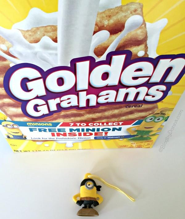 Golden Grahams Minion #The7thMinion