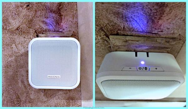 Insignia Bluetooth Speaker Collage