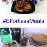 #effortlessmeals from Walmart Chicken pot pie