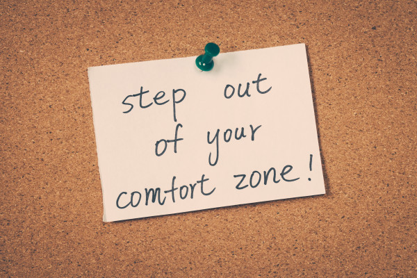 step out of your comfort zone #just10 leave your comfort zone