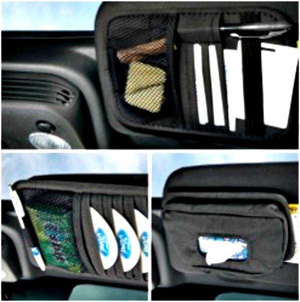 Ford Sun Visor Organizer Kit