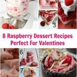 Raspberry desserts