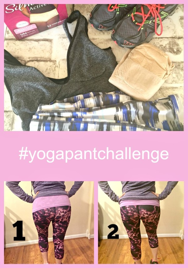 Staying active with Depend Active Fit Briefs #yogapantchallenge