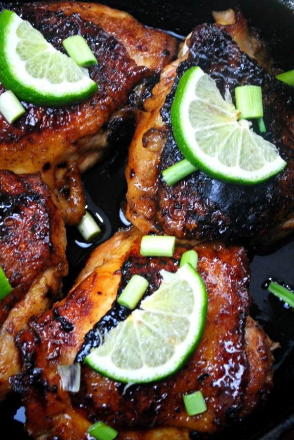 Cast Iron Skillet Honey Lime Chicken Recipe