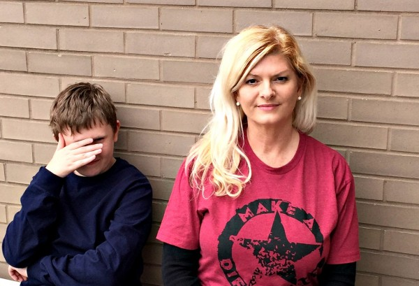 I am THAT mom! And I embarrass my son...