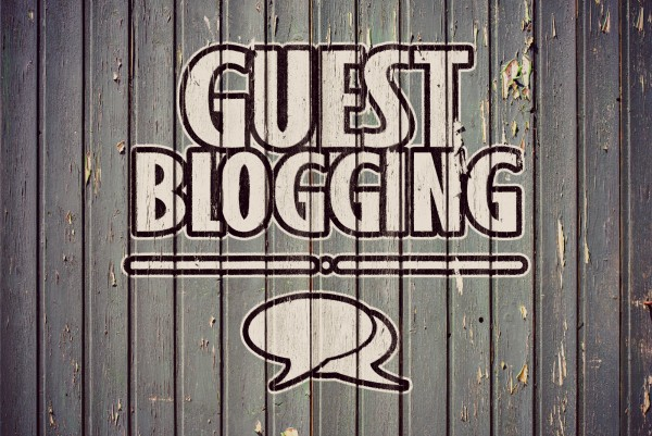 Guest blogging to increase your blog's audience...