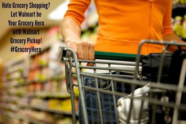 Hate grocery shopping? Walmart Grocery Pickup is my Grocery Hero #groceryhero