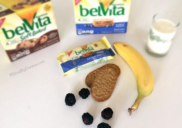 belVita Breakfast Biscuits grab & go breakfast from Walmart