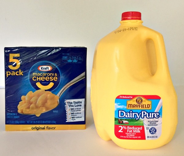DairyPure milk partnered with Kraft Macaroni & Cheese #DairyPureMilk