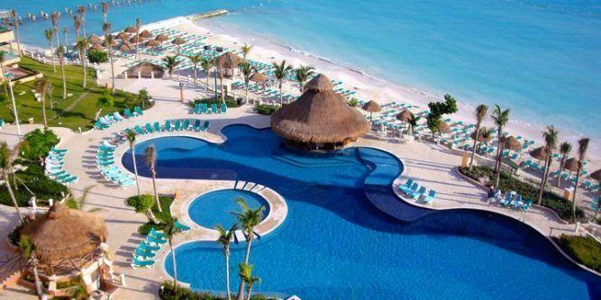 Hoteles para vacacionar en Cancún