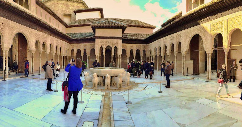 visitas a la Alhambra