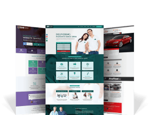 Examples of website design