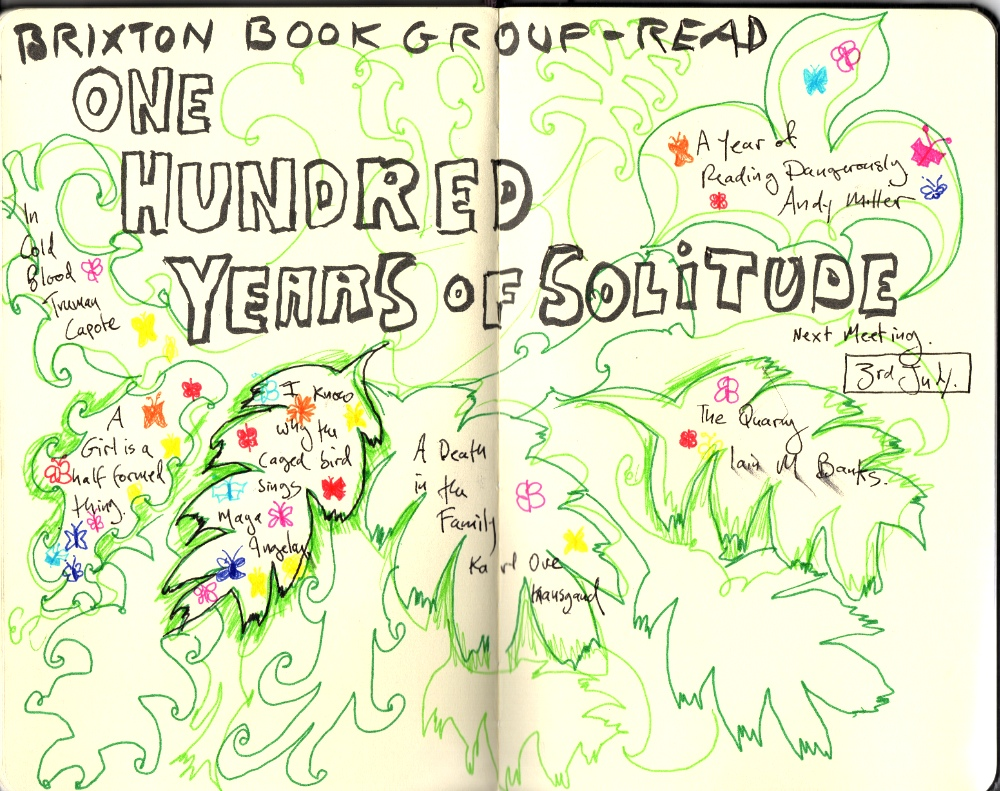 We read One Hundred Years of Solitude