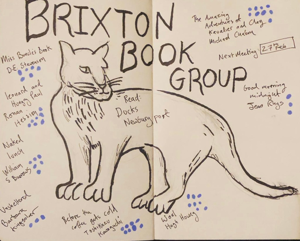 Book Group Doodle