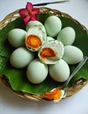 Telur Asin Bakar, Cara Pembuatan Telur Asin Bakar Yang Sangat Enak Dan Gurih Sekali