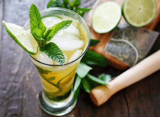 Cara Membuat Minuma Ice Mint Tea Segar Istimewa