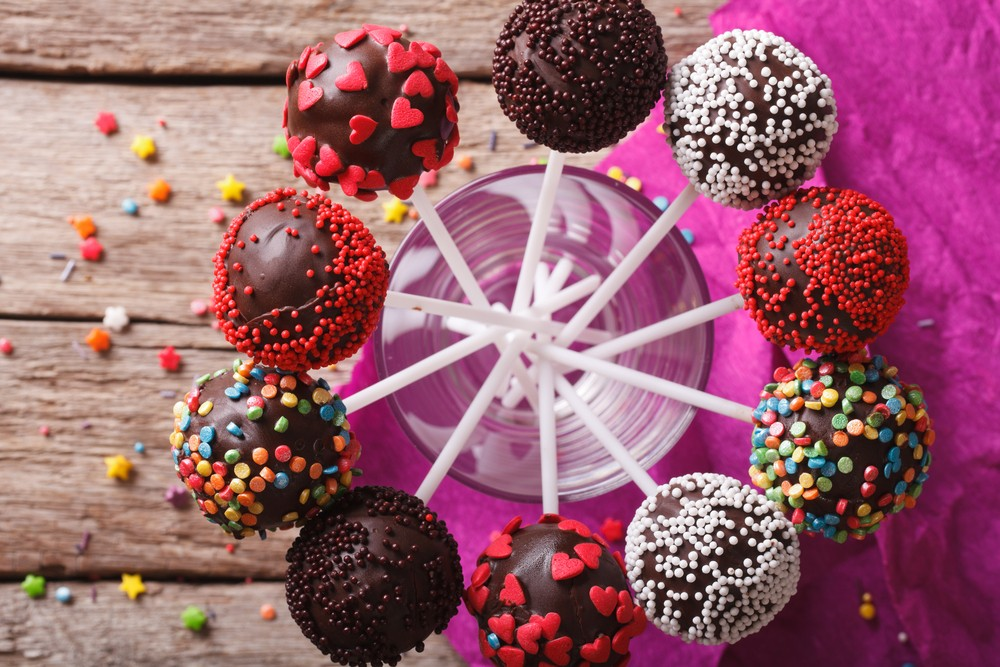 Membuat Kue Bola Cokelat