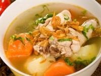, Resep dan Cara Membuat Sup Pangsit Special