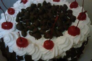 resep kue basah, Resep Kue Basah Black Forest Simpel Sederhana