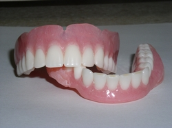 Dentures created at Gardens Cosmetic & Family Dentistry in Las Vegas, Nevada