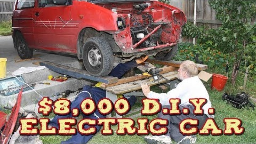 Homemade Electric Car Conversion - $8,000 D.I.Y.