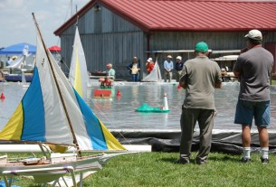 Photo: Small boats and big fun are in store for the 12th Maritime Model Expo, hosted by the Chesapeake Bay Maritime Museum's Model Guild and the Washington Ship Model Society.