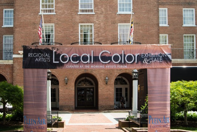 Local Color 2019 Exhibition and Sales During Plein Air Easton