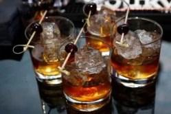Courvoisier Cherry Cobbler cocktail