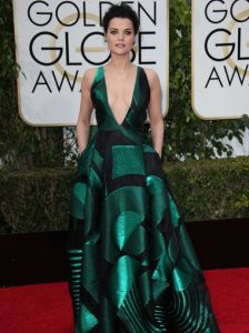 Jaimie Alexander and Kiehl's - Golden Globe Beauty and Fashion