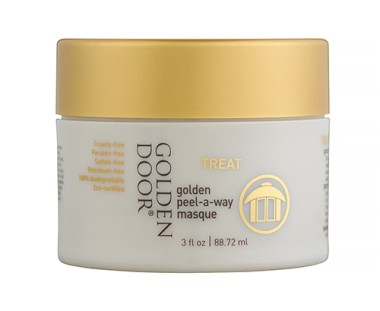 Golden Peel –A-Way Masque Introducing a Decadent All-Natural Face Mask That Will Surround Your Skin in Luxury