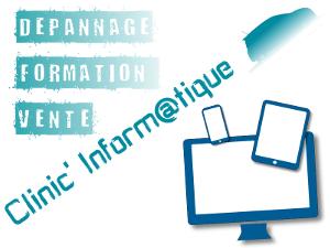 Logo Clinic informatique