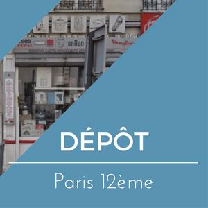Dépôt Paris 12ème
