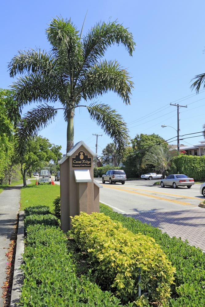 CRCCE Coral Ridge Country Club Signage Fort Lauderdale