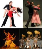 Various dance styles and techniques