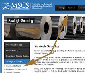 Manufacturing Supply Chain Vertical NAV