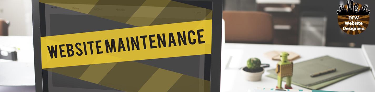 DFW Website Maintenance by https://DFWWebsiteDesigners.com