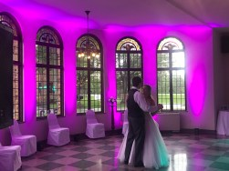 wedding dj uplighting - djonetime.com