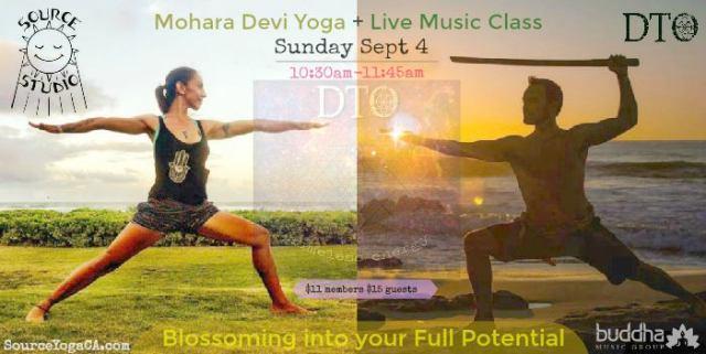 Mohara Devi DTO Buddha Music Group Riverside Yoga