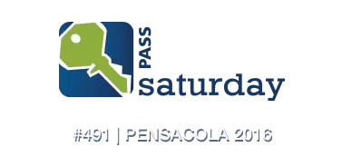 SQL Saturday Pensacola 2016