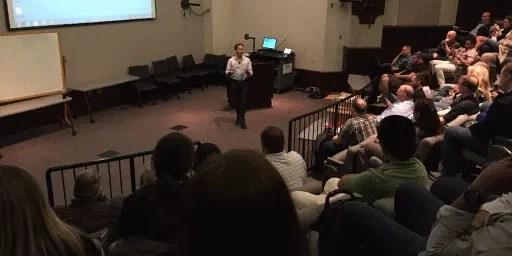 Jeff Teper, Microsoft CVP SharePoint & OneDrive, speaking at SPSNashville 2016
