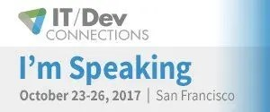 IT DEV Connections 2017