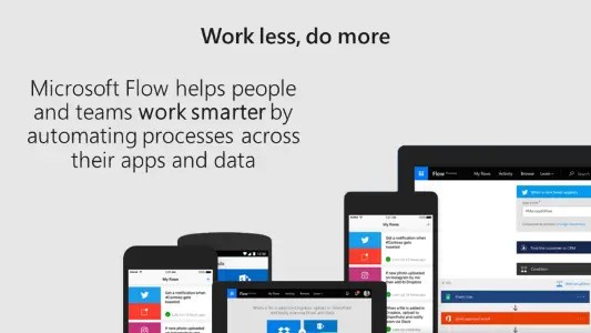 Work less, do more with Microsoft Flow