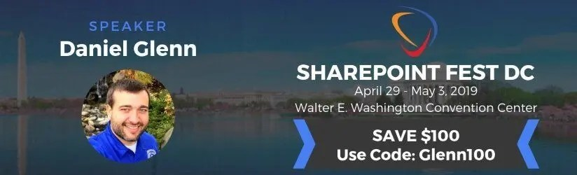 SharePoint Fest Washington DC 2019 Banner
