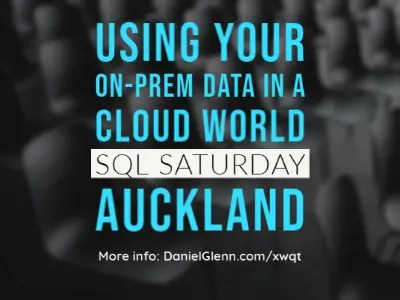 sql saturday auckland 2020
