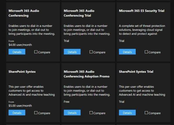 Audio Options in Microsoft 365