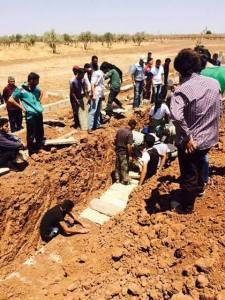 اليادودة 24-7 دفن الشهداء