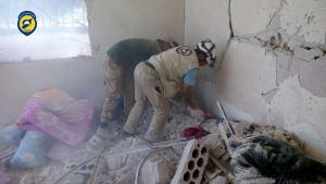 استهداف مقر للجيش الحر في طفس
