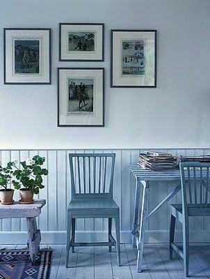 Jacob Termansen Photography - blue floorboards
