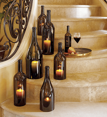 Wine_Bottle_Candle_Holders diyweddingbee