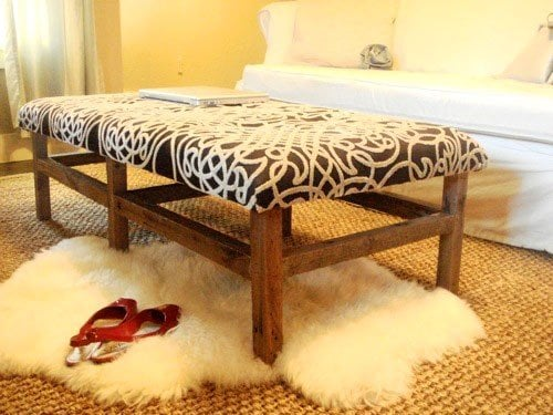 coffee table ottoman - Tufted Ottoman Coffee Table